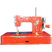 Red Toy Children's Sewing Machine