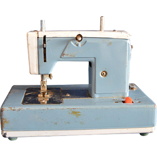 Child's Toy Sewing Machine for Display or Parts