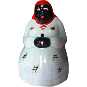 Occupied Japan China full figure BLACK AMERICANA MAMMY String Holder