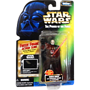 STAR WARS: The Power of the Force: Darth Vader with removable Helmet and Lightsaber: Detachable hand, issued by KENNER 1997