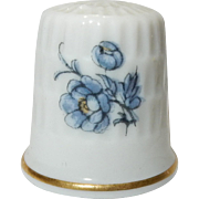Hand Painted Fine Bone China Thimble by AK Kaiser Germany