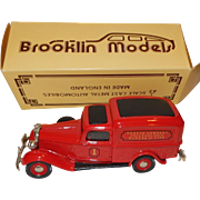 Brooklin Models Diecast 1938 Dodge Rescue Philadelphia Bureau of Fire 1/43 Scale; made in England # 16