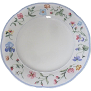 Lot of TWO (2) Villeroy and Boch MARIPOSA 6.25 inch BREAD & BUTTER  plate in Unused condition  (Mettach)