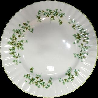 "Royal Albert 10"" Fine Bone China  ""SHAMROCK"" Luncheon Plate, made in England"
