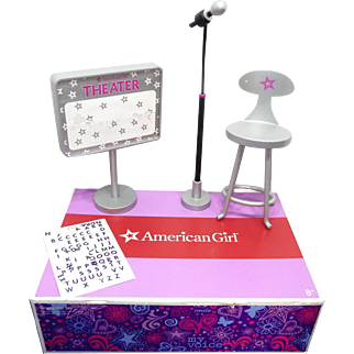 American Girl Singing Star Set  plus American Girl Doll  Authenic  Music Outfit  With Tulle Skirt;  Retired!