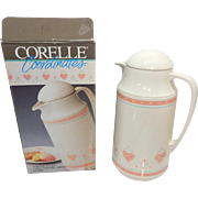 MIB ; UNUSED; Corning Corelle FOREVER YOURS thermos thermal jug for hot and cold