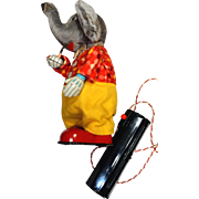 Cragstan Jolly Daddy Smoking Elephant (Battery operated)