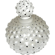 Signed Lalique Cactus Perfume with Stopper - Near Mint.