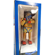 Schylling Limited Edition tin toy SPACE MAN remote control action toy; battery operated