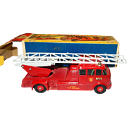 Vintage diecast Matchbox King Size MERRYWEATHER Fire Engine K-15; Like New in Original Box