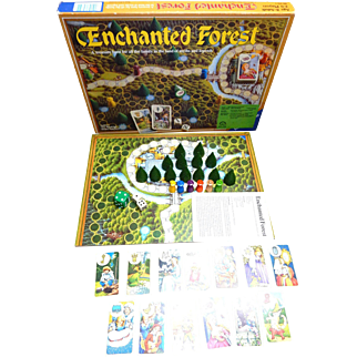 Vintage 1982 Enchanted FOREST Board Game 100% Complete,  Ravensburger W. Germany