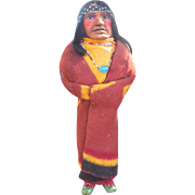 "Mary Frances Woods Native American 14"" Skookum Type Doll"