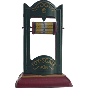 Vintage Tin Toy Scale...Great Colors!