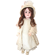 "Antique 31"" Kestner 146 German Bisque Head Doll in Amazing Antique Clothes...Stunning!"
