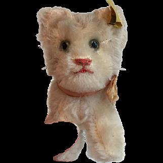 Vintage 1950's Steiff Mohair Cat...Purrrfect!