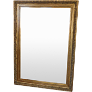 Gigantic Gold Frame Mirror w/ Beveled Glass ~ Approx 5' X 7' ~ 1990s