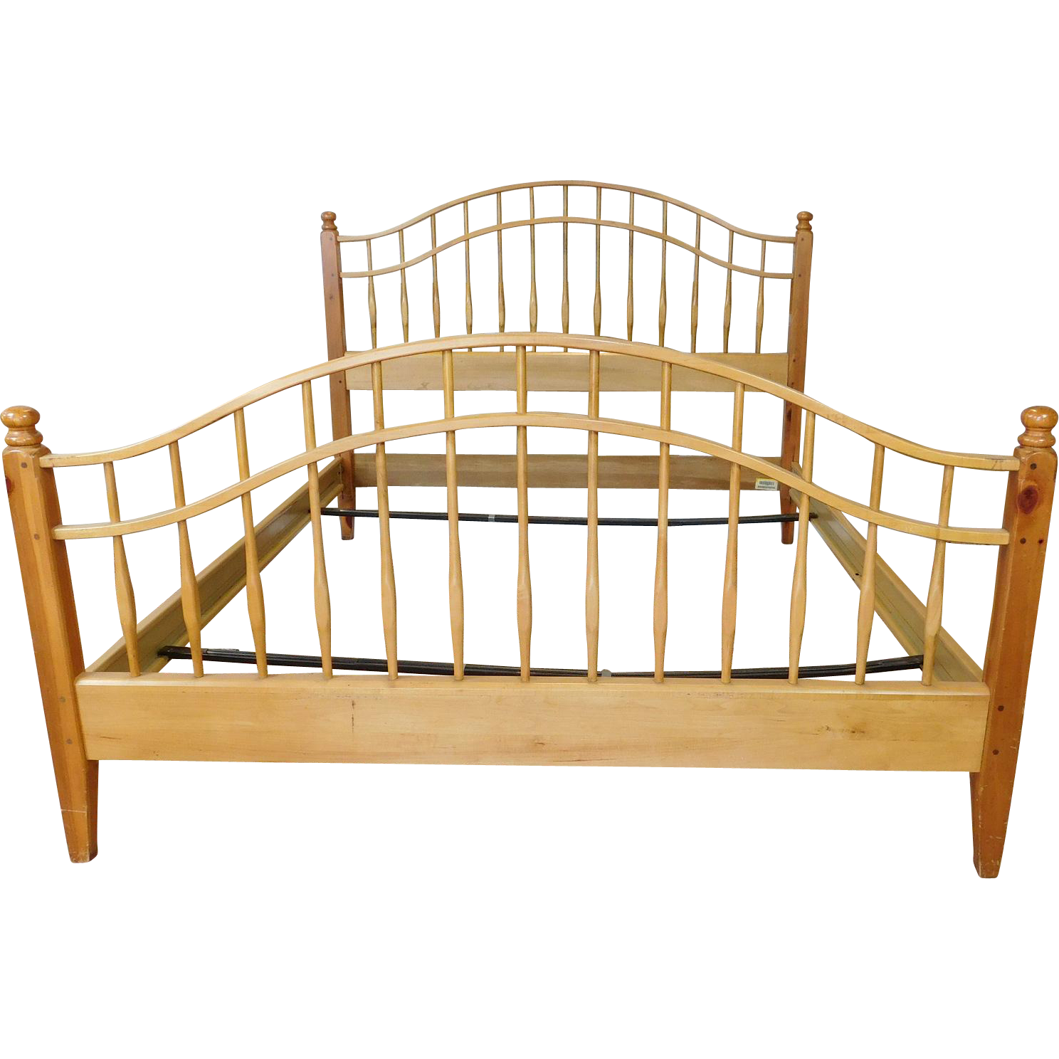 Ethan allen country craftsman knotty pine queen size for Country craftsman