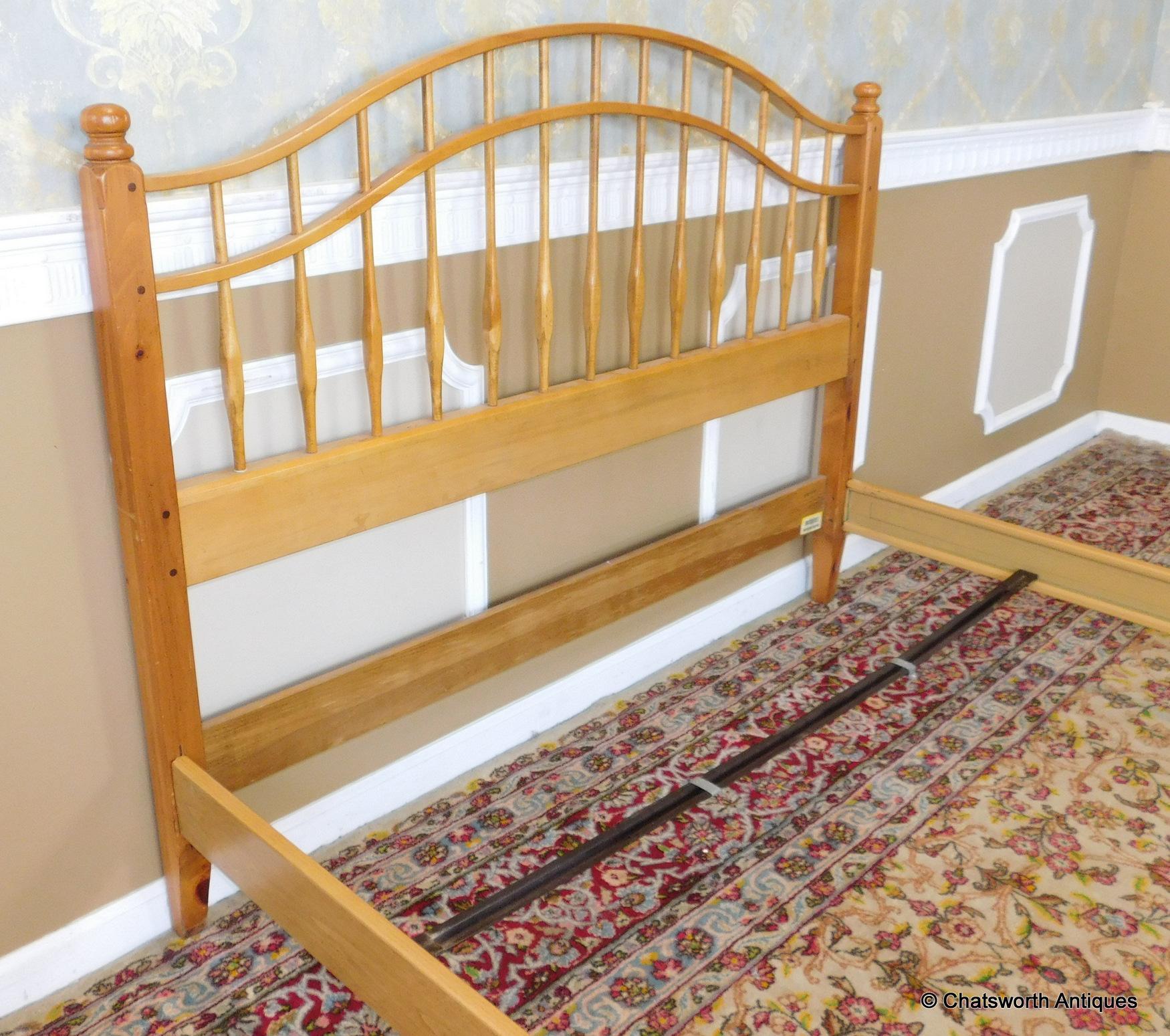 Ethan Allen Queen Beds Twin Headboard