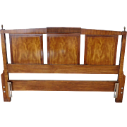 White Fine Furniture 1970s Italian Provincial Mahogany Full ~ Queen size Headboard