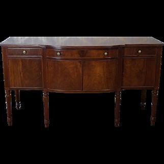 Antique Mahogany Sheraton Style Mahogany Dining Room Sideboard c1900