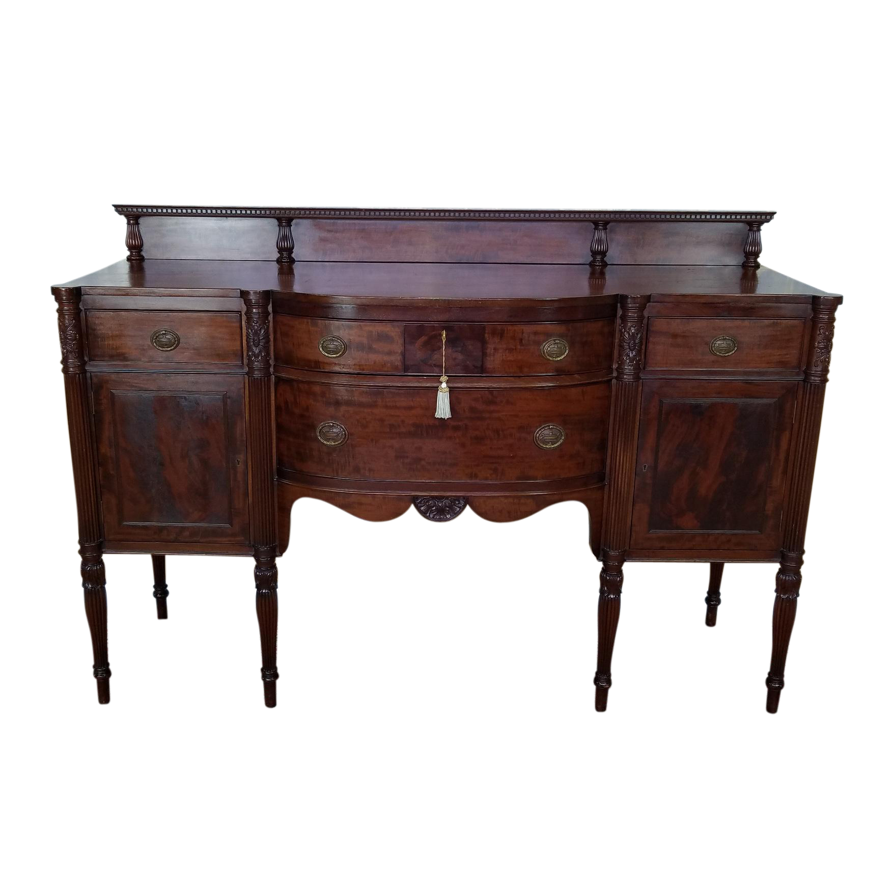 antique dining room sideboard. Potthast Bros Quality Antique American Mahogany Sheraton Style Dining Room  Sideboard c1910