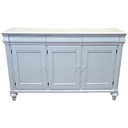 Ethan Allen British Classics White Lacquered Dining Room Sideboard Buffet 29-6426