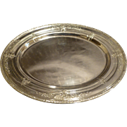 Sterling Sliver Oval  Tray Theodore B. Starr, New York 39.50 Troy Ounces