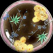 19th Century Wedgwood Majolica Plate