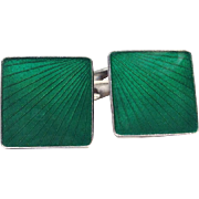 Art Deco Danish Sterling Cufflinks