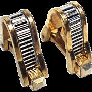 Art Deco Gold-Filled Cufflinks