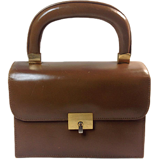 Areitio Tan Leather Purse for Macy