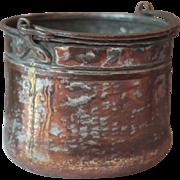 French Antique Copper & Zinc Planter