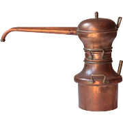 Vintage French Copper Alembic
