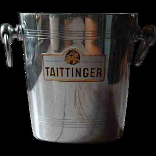 Vintage Tattinger French Champagne Bucket