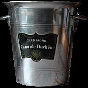 Vintage French Canard Duchene Champagne Bucket