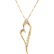 Dunay 18K Yellow Gold Diamond Pendant
