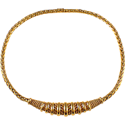 Sterle 18k Yellow Gold Chocker Necklace