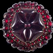 Antique Garnet Brooch