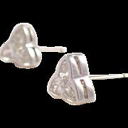 18K White Gold Kwiat Diamond Earrings