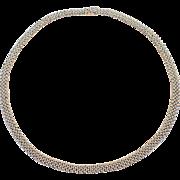 Platinum Choker Necklace