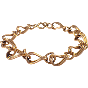 Retro 14K Rose Gold Bracelet
