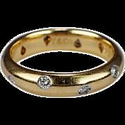 Tiffany  Co. Etoile 18k Yellow Gold Diamond Band