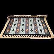 Vintage Navajo Rug by Emily Dan