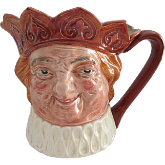 Huge Royal Doulton Harry Fenton Earthen Old King Cole 1935-1955 Toby