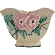 Vintage McCoy Pottery Wild Rose Planter - 1940