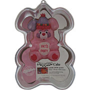 Wilton Aluminum Cake Decorating Pan - Popples - 1985
