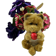 Teeny Tiny Vintage Teddy Bear for a Special Old Doll