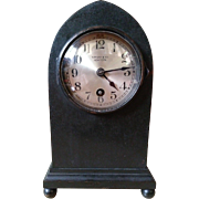 Tiffany & Company bronze beehive cabinet clock with Chelsea movement