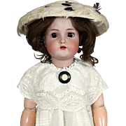Antique German Bisque Head Doll Kammer & Reinhardt KR