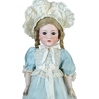 Antique German Bisque Head Doll Ohlhaver Revalo 150